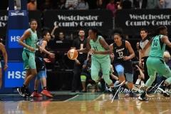 WNBA - New York Liberty 79 vs. Atlanta Dream 72 (61)