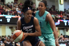 WNBA - New York Liberty 79 vs. Atlanta Dream 72 (62)