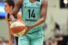 WNBA - New York Liberty 79 vs. Atlanta Dream 72 (76)