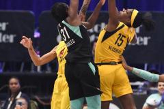 WNBA - New York Liberty 80 vs. Indiana Fever 81 (49)