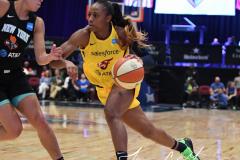 WNBA - New York Liberty 80 vs. Indiana Fever 81 (56)