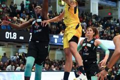 WNBA - New York Liberty 80 vs. Indiana Fever 81 (73)
