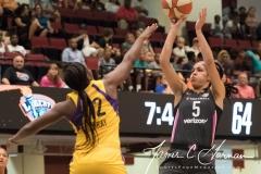 WNBA - New York Liberty 81 vs. Los Angeles Sparks 82 (53)