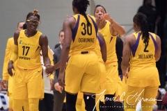 WNBA - New York Liberty 81 vs. Los Angeles Sparks 82 (60)