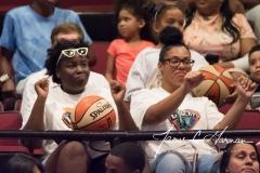 WNBA - New York Liberty 81 vs. Los Angeles Sparks 82 (61)