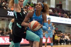 WNBA - New York Liberty 83 vs. Chicago Sky 91 (77)