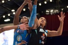 WNBA - New York Liberty 83 vs. Chicago Sky 91 (78)