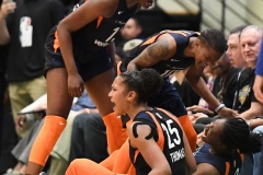 WNBA - New York Liberty 86 vs. Connecticut Sun 88 (74)