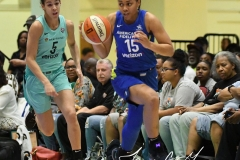WNBA - New York Liberty 94 vs. Dallas Wings 89 (12)