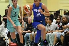 WNBA - New York Liberty 94 vs. Dallas Wings 89 (12)