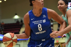 WNBA - New York Liberty 94 vs. Dallas Wings 89 (27)