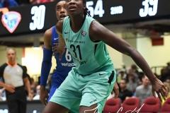 WNBA - New York Liberty 94 vs. Dallas Wings 89 (33)