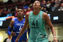 WNBA - New York Liberty 94 vs. Dallas Wings 89 (36)