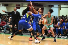 WNBA - New York Liberty 94 vs. Dallas Wings 89 (47)