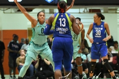 WNBA - New York Liberty 94 vs. Dallas Wings 89 (51)