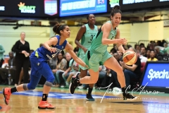 WNBA - New York Liberty 94 vs. Dallas Wings 89 (63)