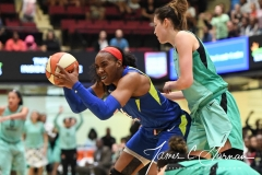 WNBA - New York Liberty 94 vs. Dallas Wings 89 (64)