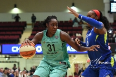WNBA - New York Liberty 94 vs. Dallas Wings 89 (66)