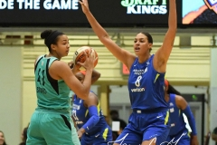 WNBA - New York Liberty 94 vs. Dallas Wings 89 (9)
