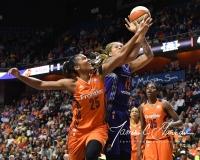 WNBA Connecticut Sun 83 vs. Phoenix Mercury 88 (47)