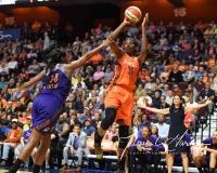 WNBA Connecticut Sun 83 vs. Phoenix Mercury 88 (58)