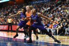 WNBA Connecticut Sun 83 vs. Phoenix Mercury 88 (73)