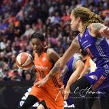 WNBA Connecticut Sun 83 vs. Phoenix Mercury 88 (78)