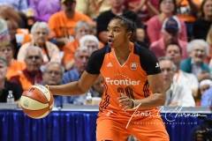 WNBA Connecticut Sun 83 vs. Phoenix Mercury 88 (86)