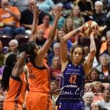 WNBA Connecticut Sun 83 vs. Phoenix Mercury 88 (88)