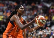 WNBA Connecticut Sun 83 vs. Phoenix Mercury 88 (89)
