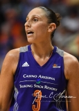 WNBA Connecticut Sun 83 vs. Phoenix Mercury 88 (90)
