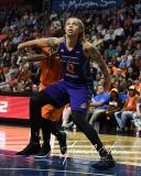 WNBA Connecticut Sun 83 vs. Phoenix Mercury 88 (96)