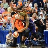 WNBA Connecticut Sun 83 vs. Phoenix Mercury 88 (97)