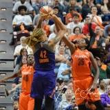 WNBA Connecticut Sun 83 vs. Phoenix Mercury 88 (98)