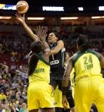 Gallery WNBA: Seattle Storm 75 vs. San Antonio Stars 57