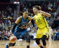 Gallery WNBA: Seattle Storm 77 vs. Minnesota Lynx 100