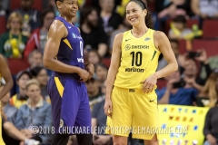 Gallery WNBA: Seattle Storm 81 vs Los Angeles Sparks 72