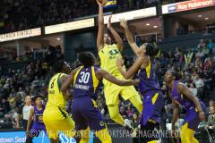 Gallery WNBA: Seattle Storm 84 vs Los Angeles Sparks 62