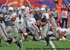 Nova_Arizona_Bowl_039NCAA Football: 2016 Nova Home Loans Arizona Bowl: Air Force Academy 45 vs South Alabama 21, Arizona Stadium, Tucson, AZ, 12/30/2016