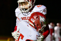 CIAC Football; Class M QFs - #2 Sheehan vs. #7 Wolcott - Photo # 011