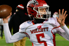 CIAC Football; Class M QFs - #2 Sheehan vs. #7 Wolcott - Photo # 106