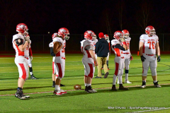 CIAC Football; Class M QFs - #2 Sheehan vs. #7 Wolcott - Photo # 167