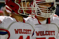 CIAC Football; Class M QFs - #2 Sheehan vs. #7 Wolcott - Photo # 288