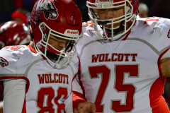 CIAC Football; Class M QFs - #2 Sheehan vs. #7 Wolcott - Photo # 290