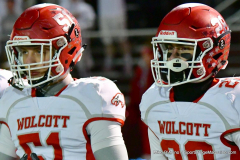 CIAC Football; Class M QFs - #2 Sheehan vs. #7 Wolcott - Photo # 328