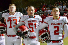 CIAC Football; Class M QFs - #2 Sheehan vs. #7 Wolcott - Photo # 429