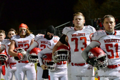 CIAC Football; Class M QFs - #2 Sheehan vs. #7 Wolcott - Photo # 430