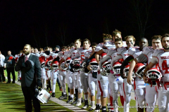CIAC Football; Class M QFs - #2 Sheehan vs. #7 Wolcott - Photo # 432
