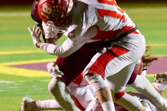 CIAC Football; Class M QFs - #2 Sheehan vs. #7 Wolcott - Photo # 483
