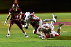 CIAC Football; Class M QFs - #2 Sheehan vs. #7 Wolcott - Photo # 484